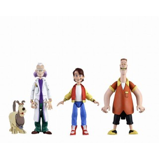 Back To The Future Cartoon Classic 6 Inch 3Type Set Neca