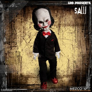 Living Dead Dolls SAW Billy the Puppet Mezco