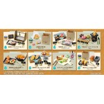 Petit Sample BAKERY PETIT Pack of 8 RE-MENT