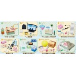 Petit Sample Zubora chan no Oheya Jijou Pack of 8 RE-MENT