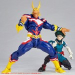 Revoltech My Hero Academia Figure Complex Amazing Yamaguchi No 019 All Might Kaiyodo