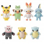 Pokemofu Doll 5 Pack of 10 Bandai