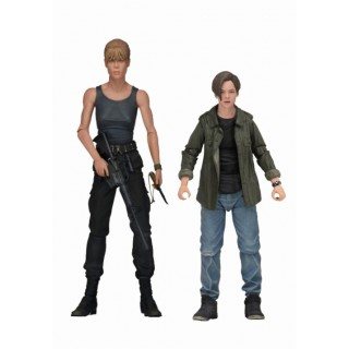 7 Inch Action Figure Terminator 2 - Sarah Connor and John Connor Ultimate 7 Inch Pack Neca