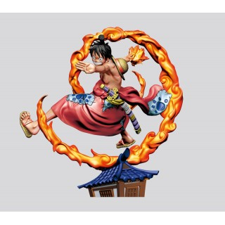 LOGBOX RE BIRTH ONE PIECE Wano Country Arc One Pack of 4 MegaHouse
