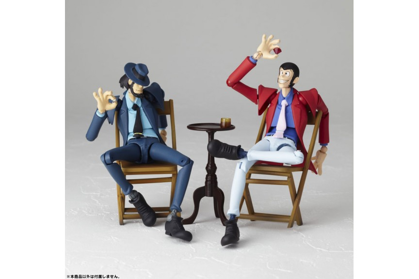 Lupin The Third Legacy of Revoltech LR-026 Jigen Daisuke Action Figure
