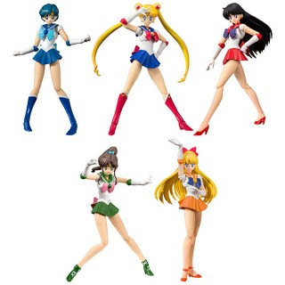 S.H.Figuarts Sailor Moon Animation Color Edition set of 5 BANDAI SPIRITS