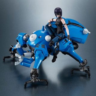 Variable Action High Spec Ghost In The Shell Sac 2045 Tachikoma And Motoko Kusanagi Megahouse Mykombini