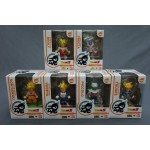 (T12E10) Dragon Ball Z DBZ Tamashii Buddies set of 6 figures Son Gokou Vegeta Piccolo Trunks Broly Freeza