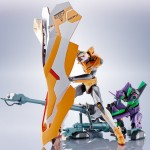 Evangelion Robot Damashii (Side EVA) Operation Yashima Reproduction Positron Cannon + ESV + Type G Components Bandai Limited