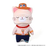 ONE PIECE withCAT Plush BIG Size w/Eye Mask Ace Movic