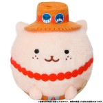 ONE PIECE Amimaru Plush Keychain Ace Movic