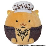 ONE PIECE Amimaru Plush Keychain Law Movic