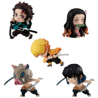 Demon Slayer Kimetsu no Yaiba ADVERGE MOTION Pack of 10 Bandai