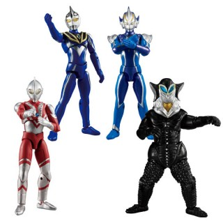 Choudou Ultraman 7 Pack of 10 Bandai