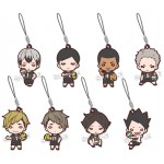 Nitotan Haikyuu Inarizaki High School Rubber Mascot Pack of 8 Takara Tomy A.R.T.S