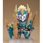 Nendoroid Monster Hunter World Iceborne Male Hunter Zinogre Alpha Ver. Capcom