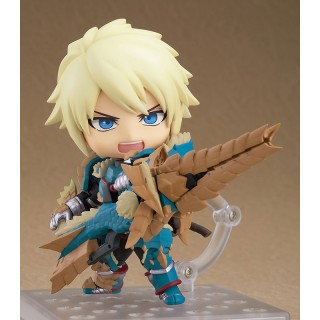 Nendoroid Monster Hunter World Iceborne Male Hunter Zinogre Alpha Ver. DX Capcom