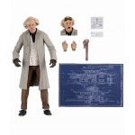 Ultimate 7 Inch Action Figure Back To The Future Dr. Emmet Brown Neca