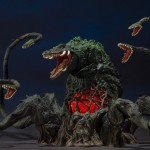 S.H.MonsterArts Gojira vs. Biollante - Biollante Special Color Ver. Bandai Limited
