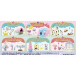 Little Twin Stars Twinkle Party Pack of 6 RE-MENT