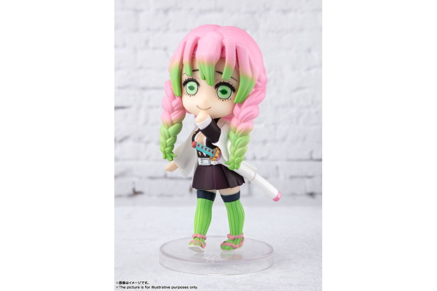Figuarts Mini Mitsuri Kanroji Demon Slayer Kimetsu No Yaiba Bandai Spirits Mykombini Notify me when this product is available our demon slayer love pillar mitsuri kanroji cosplay wig is perfect for cosplay. figuarts mini mitsuri kanroji demon
