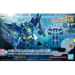 HGBDR 1/144 Mercuone Unit Plastic Model Gundam Build Divers ReRISE BANDAI SPIRITS