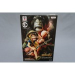 (T4E2) One Piece Scultures Big Banpresto Figure Colosseum IV Monkey.D.Luffy