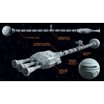 2001 A Space Odyssey Discovery XD 1 Plastic Model 1/350 Moebius Models