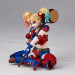 Revoltech DC Comics Figure Complex Amazing Yamaguchi No 015EX Harley Quinn New Color Edition Kaiyodo
