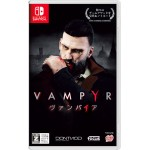 Nintendo Switch Vampyr Regular Edition Game Source Entertainment