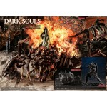 Game Piece Collection DARK SOULS Elite Knight and Chaos Witch Quelaag Unpainted Kit MegaHouse