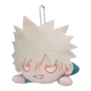 My Hero Academia Nesoberi Plush Katsuki Bakugo School Uniform SEGA