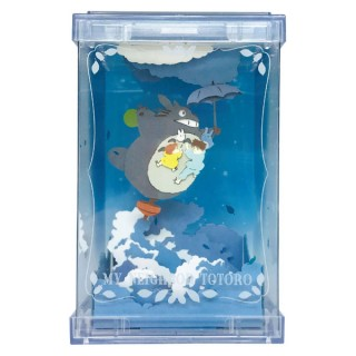 My Neighbor Totoro Paper Theater Cube Studio Ghibli Works PTC T01 Walking in a Moon Night Ensky