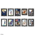 Kingdom Hearts Acrylic Magnet Gallery Vol 1 box of 10 Square Enix