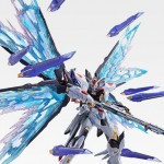 Metal Build Gundam Seed Destiny Strike Freedom Gundam Wing Of Light Option Set Soul Blue Ver. Bandai Limited