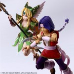 Seiken Densetsu Series Trials of Mana Bring Arts Hawkeye and Riesz set of 2 Square Enix