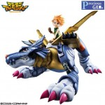 Precious G.E.M Serie Digimon Adventure Metal Garurumon & Ishida Yamato Megahouse Limited Edition (Resale)