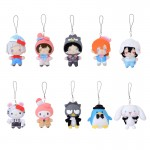 Bungo Stray Dogs x Sanrio Characters PuchiNui Mascot Pack of 10 SEGA
