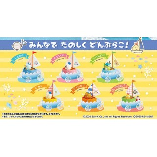 Sumikko Gurashi Sumikko Yacht de Donburako Pack of 6 RE-MENT