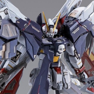 Metal Build Mobile Suit Crossbone Gundam - Crossbone Gundam X1 Full Cloth Bandai Limited