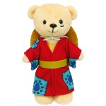Kumamate ONE PIECE Bear Plush and Outfit Set Luffytarou Movic