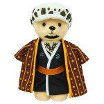 Kumamate ONE PIECE Bear Plush and Outfit Set Trafalgar Law Movic