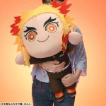 Demon Slayer Kimetsu no Yaiba Extra Large Nesoberi Plush Kyojuro Rengoku SEGA