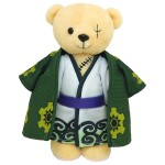Kumamate ONE PIECE Bear Plush and Outfit Set Zorojurou Movic