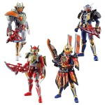 SODO CHRONICLE Kamen Rider Gaim 2 Pack of 10 Bandai
