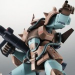 Robot Damashii (Side MS) MS-07H Gouf Flying Test Type ver. A.N.I.M.E. Mobile Suit Gundam Bandai Limited