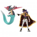 Pokemon Scale World Galar Region Dande (Leon) and Dorapult (Dragapult) Bandai Limited