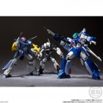Super Mini Pla Blue Comet SPT Layzner Vol.1 Pack of 3 Bandai