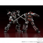 Super Mini Pla Balgion Choudenshi Bioman Set of Balgion and Bio Robot Premium Bandai Limited
