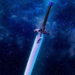 Proplica Sword Art Online Night Sky Sword Bandai Limited